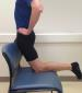 Hip flexor stretch step 2