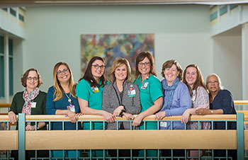 Aimee Giglio and care team