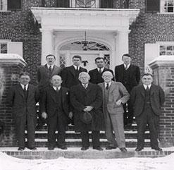 Hitchcock Clinic staff 1933