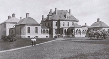 Early image of Mary Hitchcock Memorial Hospital