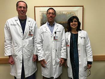 John Gemery, MD, Mark Franklin, MD, and Arifa Toor, MD