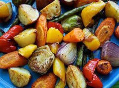 Roast a Rainbow vegetables
