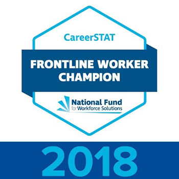 CareerSTAT Frontline Worker Champion 2018