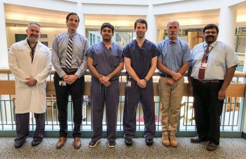 Dr. David Jevsevar, Dr. Wayne Moschetti, Sri Ramachandra, Dr. Praveen Ramia Govardhan, Dr. Peter Shaughnessy, Dr. John Nutting and Dr. Dipak Ramkumar