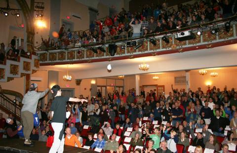 Warren Miller audience