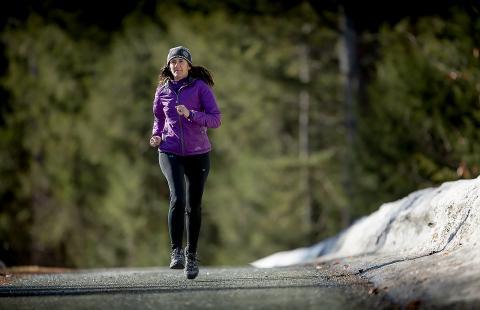 Krista Duvall running