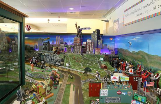 CHaD Train diorama