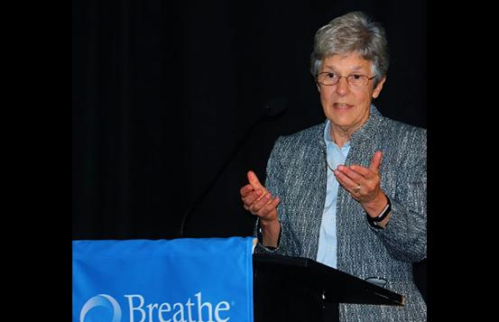 Dr. Guill at Breathe New Hampshire
