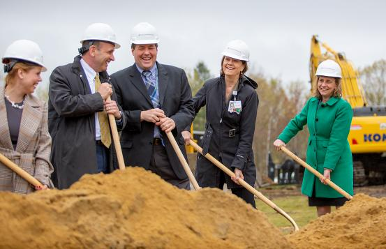 D-H Manchester expansion groundbreaking include state-of-the art operating rooms, including ones dedicated for pediatric patients.