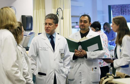 Tim Lukovitz, MD and residents