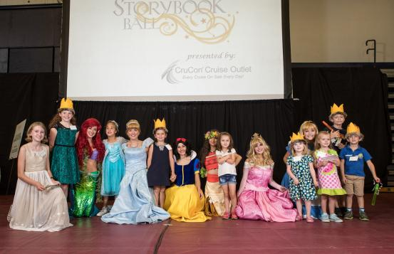 CHaD Ambassadors at Storybook Ball