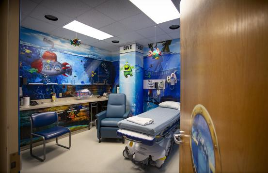CHaD Underwater room wrap