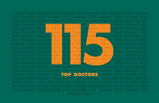 Top Docs 2020 Thank You graphic