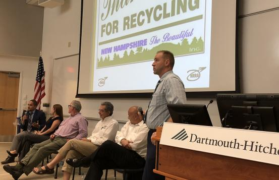 Speakers at the Northern New England Recycling Summit