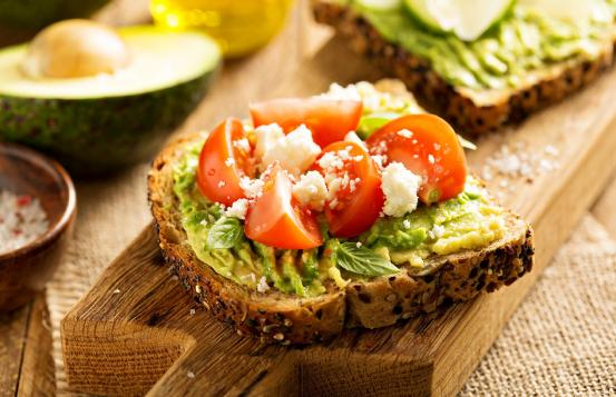 Avocado toast - Greek style