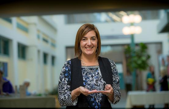 Catherine Bardier, Director of Wellness and Community Health at New London Hospital