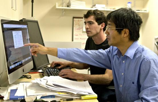 Graduate student, Fred Varn and Chao Cheng