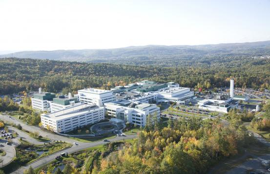 An ariel view of the Dartmouth-Hitchcock Medical Center