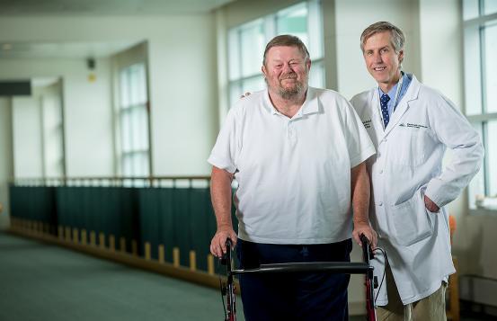 John Richards and Dr. Michael Sparks