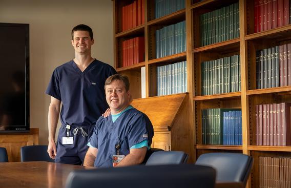 Jonathan Glass, MD, and Matthew LeBoeuf, MD, PhD