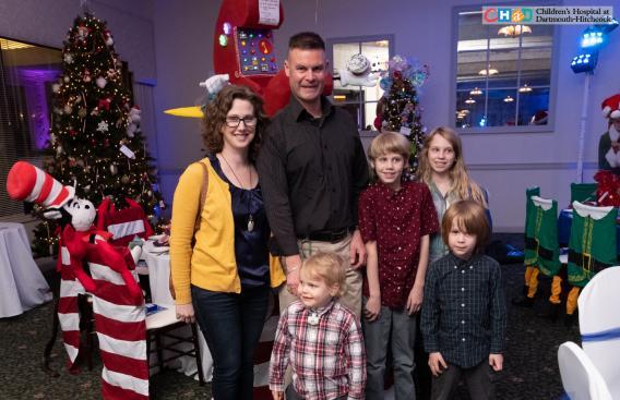 CHaD family at Storybook Ball