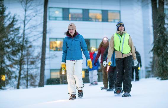 Snowshoe at DHMC