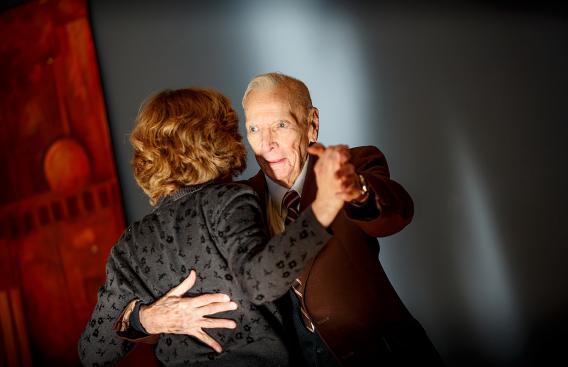 Warren Jarvis dancing
