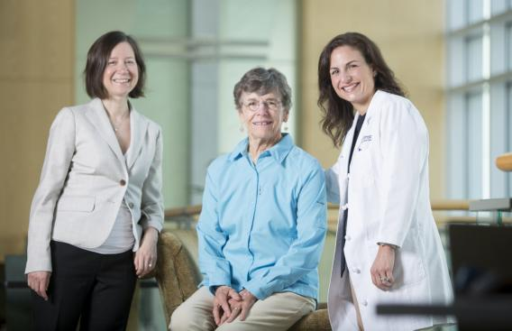 Mary Jo Turk, PhD, Nancy Calder, and Christina Angeles, MD
