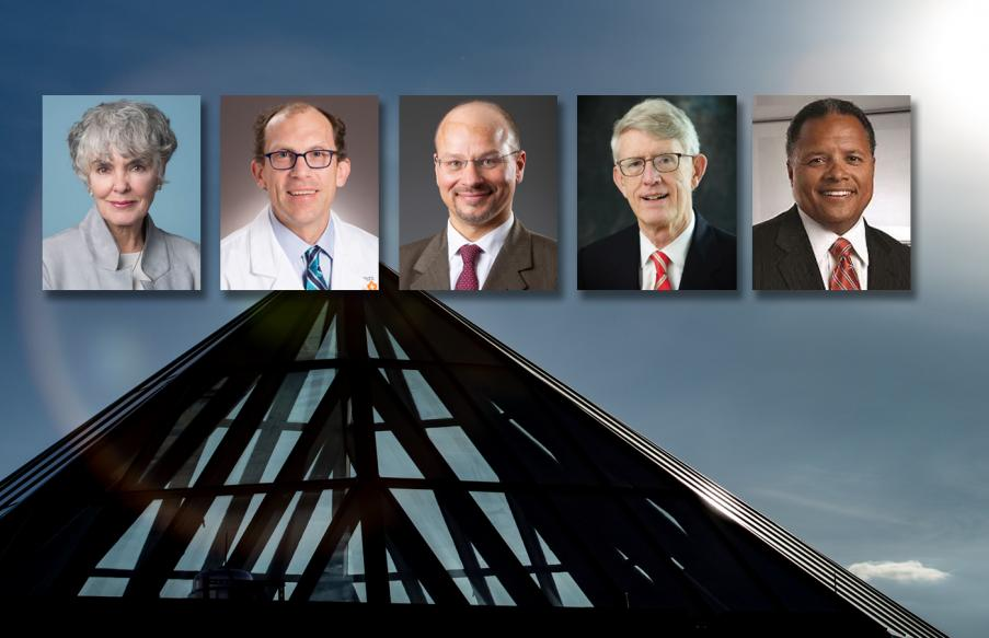 Photo of new board members